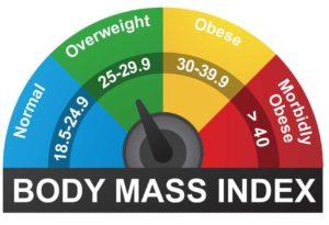 Vücut kitle indeksi değerleri